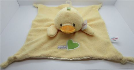 Baby Gund DUCK Snuggle Comfort Blankie - Suitable From Birth - Satineesnug NEW